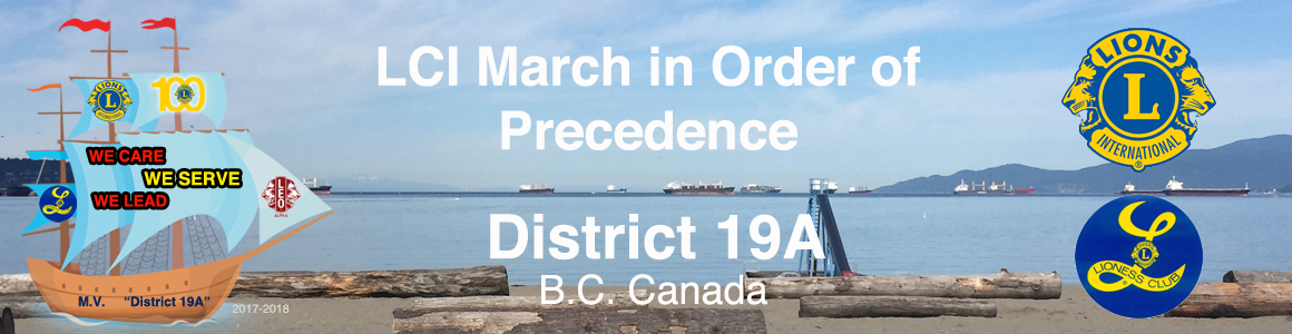 March in Order of Precedence